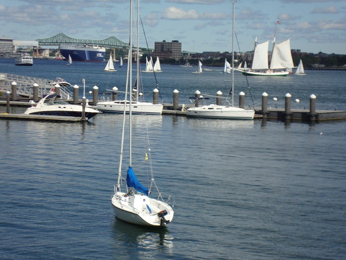 Boston Waterfront Harbor