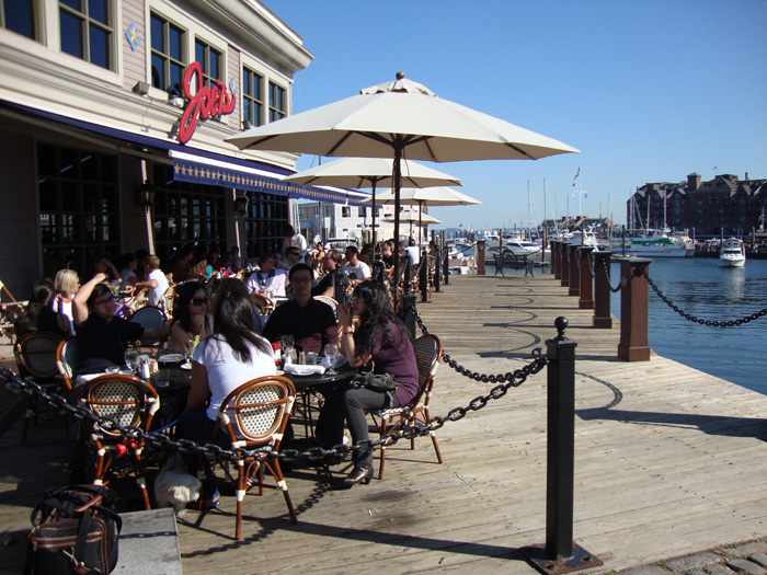 Pubs And Restaurants Waterfront Joe S American Bar Grill Commercial Wharf